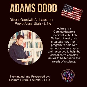 Adams Dodd - Global Goodwill Ambassador