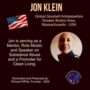 Jon Klein - Boston - USA - Global Goodwill Ambassador