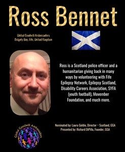 Ross Bennet - Global Goodwill Ambassador