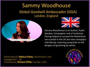 Sammy Woodhouse - England - Global Goodwill Ambassador