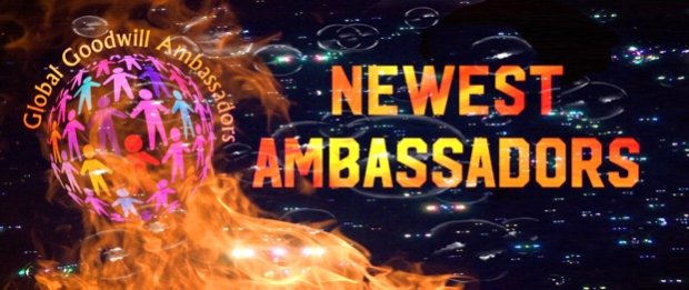 Goodwill is expanding ... new Global Goodwill Ambassadors in March 2018