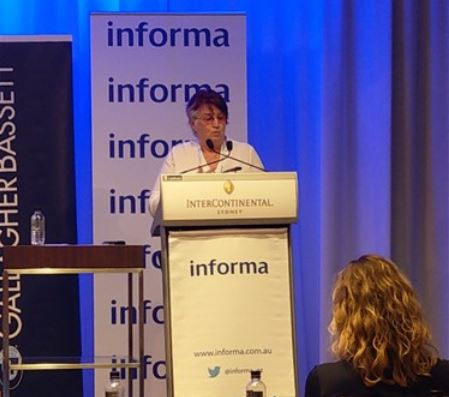 Rosemary McKenzie-Ferguson at InterContinental Sydney - Informa Workers Compensation Summit in February 2018 -